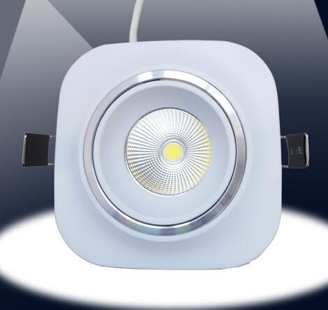 Бесплатная доставка Лидер продаж 10 Вт удара светодиодные светильники, светодиодные утопленный свет лампы, высокой мощности Светодиодный п...