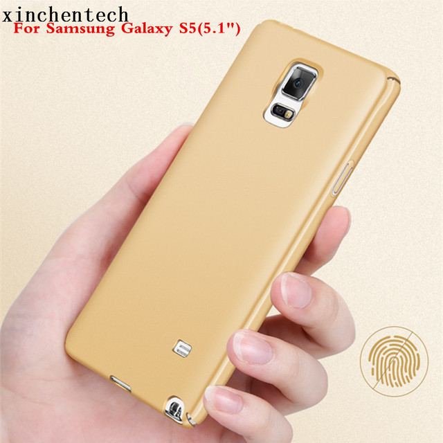separation shoes 94cec 659f1 US $3.98  Xinchentech Luxury Smooth Hard Case For Samsung Galaxy S5 5.1