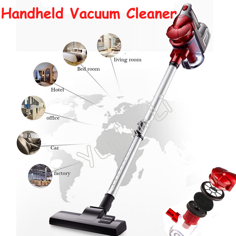 Household Mute Vacuum Cleaner Handheld Electrical Vacuum Sweeper High Power Mite-Killing Dust Collector AXS-827 jiqi vacuum cleaner household small strong divide mite handheld pusher dog and cat pet hair carpet suction machine
