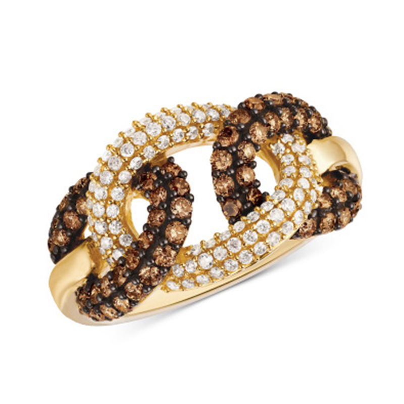 NUOVO Bambini Argento Bling Ring
