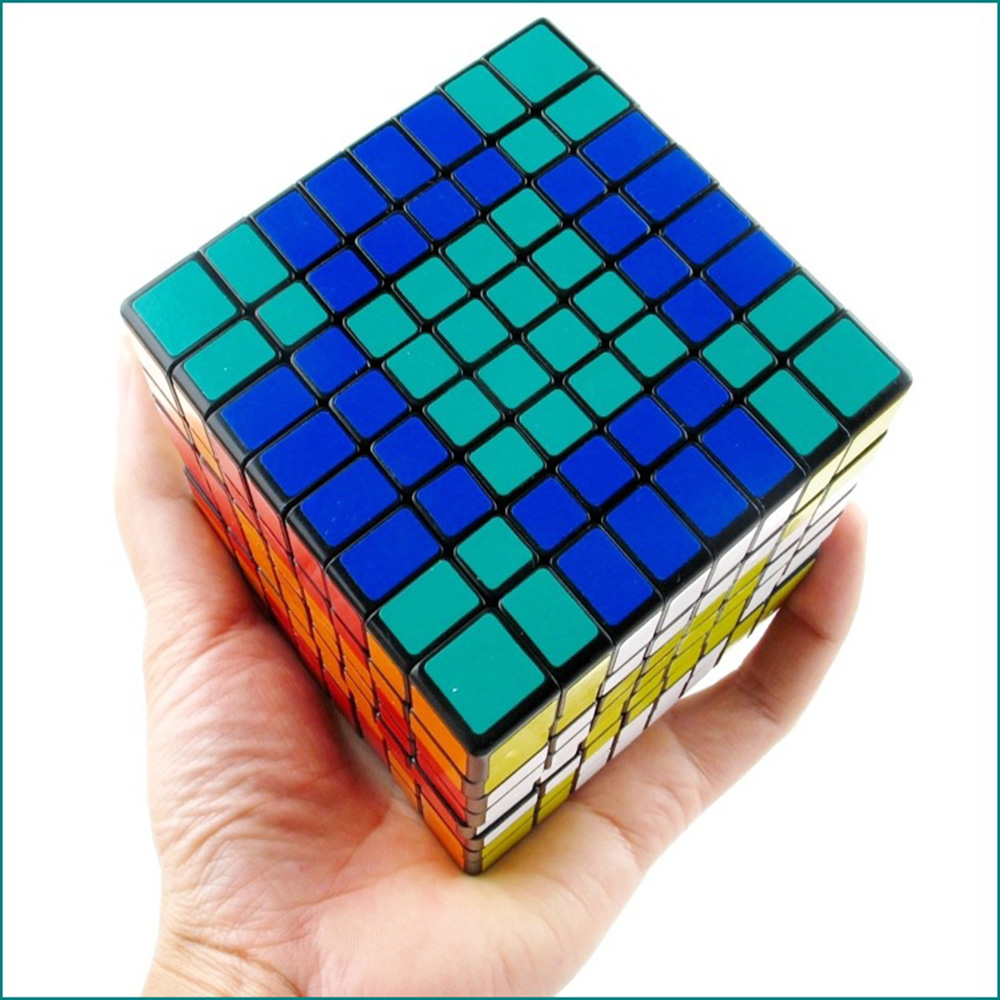8x8x8 cube magic cube Layers magico cubo Learning Education gift toys cube Professional Match High Speed Smooth Cube велосипед cube nature sl 2018