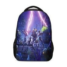 3D  Fortnite Battle Royale Design Children Backpacks Girls School Shoulder Bags Bagpack Mochila Mujer Bolsa Escolar 2018