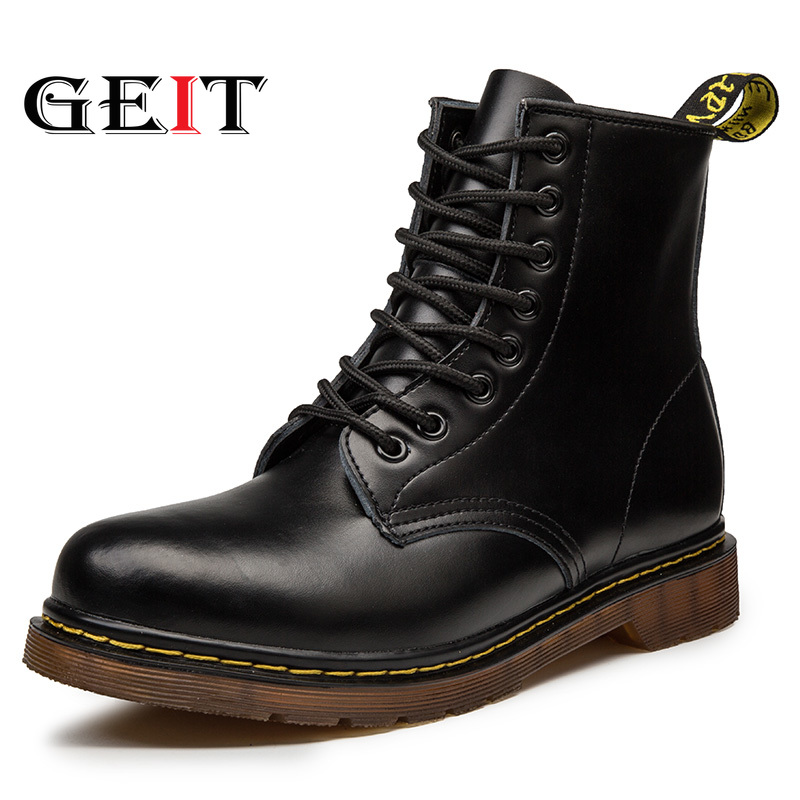 Doc Marts Chaussure Martens Men Shoes Ankle Boots Men Winter Boots Homme Top Quality Mtins Boots Work Boots With Steel Toes Men's Shoes
