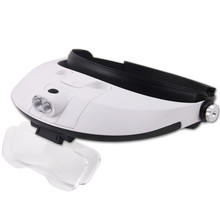 Professional Head Magnifier Loupes with Led Lights for Jewelers and Watchmakers