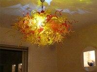 Modern Ceiling Decorative Handmade Blown Murano Glass Art Design Villa Decor Chandelier