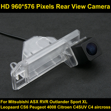 PAL HD 960*576 Píxeles de alta definición Cámara de visión Trasera de Aparcamiento de Coches para Mitsubishi ASX 2011 2012 2013 RVR Outlander Deporte Coche XL