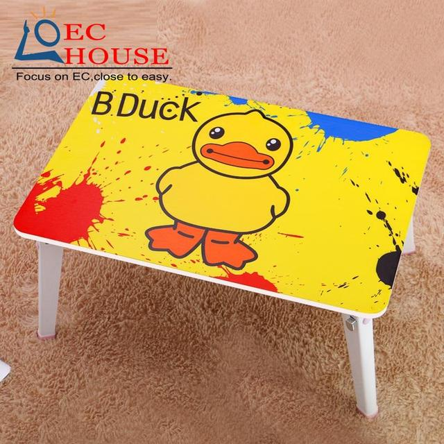Qi Yi notebook comter bed with simple dormitory artifact lazy table folding desk KT FREE SHIPPING