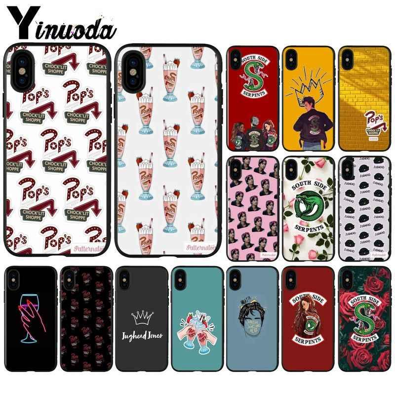 Yinuoda Chương Trình Truyền Hình Mỹ Riverdale Jughead Jones TPU Mềm Ốp Lưng Điện Thoại Cho Iphone X XS Max 6 6 S 7 7 Plus 8 8Plus 5 5S SE XR