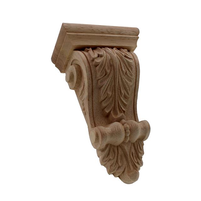 Vintage Carved Wooden Furniture Ornament
