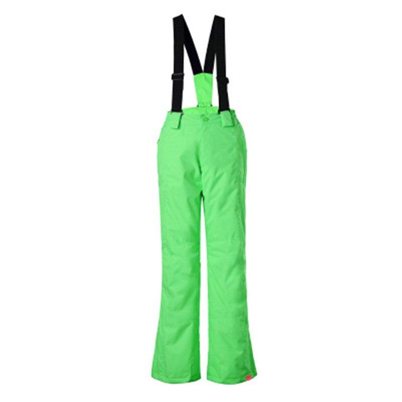 GS Bib Children Snow Pants outdoor Sports wear snowboarding Trousers waterproof windproof Belt Skiing pants for Girls or Boys