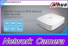 Dahua NVR NVR4104-P 4CH 5MP 4 Channel network video recorder ONVIF mini 1080P H.264 Fast shipping