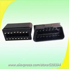 10pcs CNPAM Universal Car Auto Diagnostic Cable Adapter j1962 16 pin obd ii OBD2 Male Connector Plug
