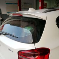 For BMW F20 116 118 120 125 M135I spoiler High Quality ABS Material Car Rear Wing Primer Color spoiler for BMW F20