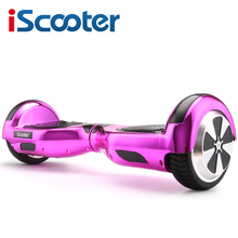 "iScooter Electric Skateboard Hoverboard Self Balancing Scooter two 6.5 inch Wheel with Led Bluetooth Speaker 6.5""  hover board"