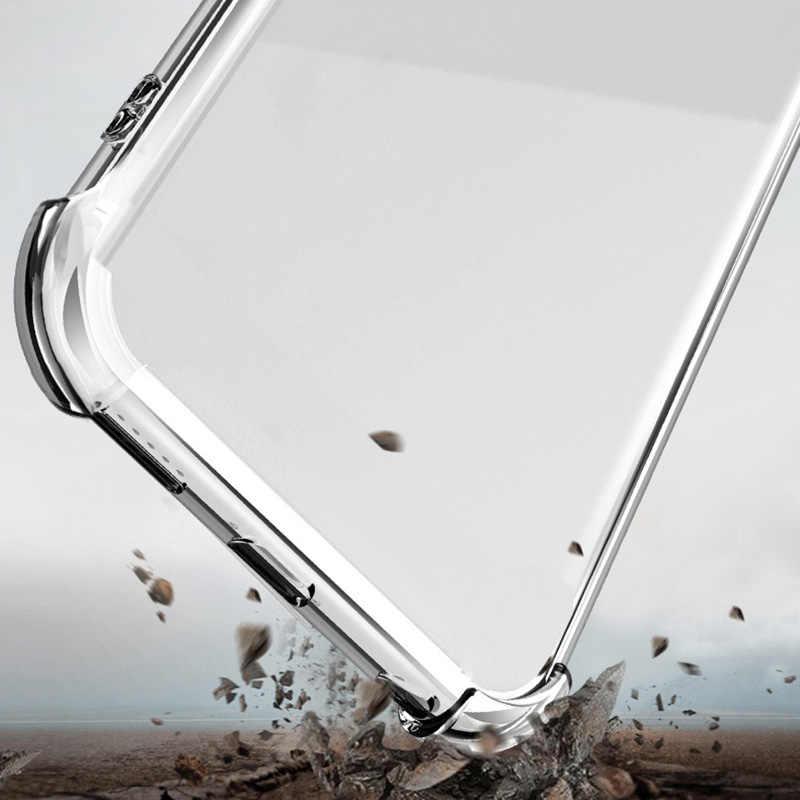 Chống sốc Rõ Ràng Mềm Điện Thoại Trường Hợp Đối Với Huawei Honor V20 8A 8X Max Chơi Lưu Ý 10 P30 Pro Người Bạn Đời 20 Lite y5 Y6 2 P8 Lite 2017 Trường Hợp