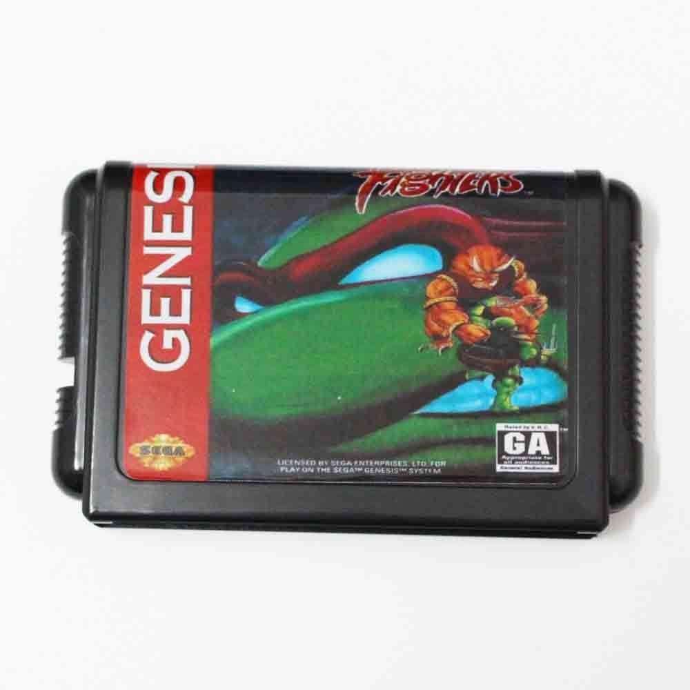 Teenage Mutant Ninja Turtles - Tournament Fighters 16 bit MD Game Card For Sega Mega Drive For Genesis
