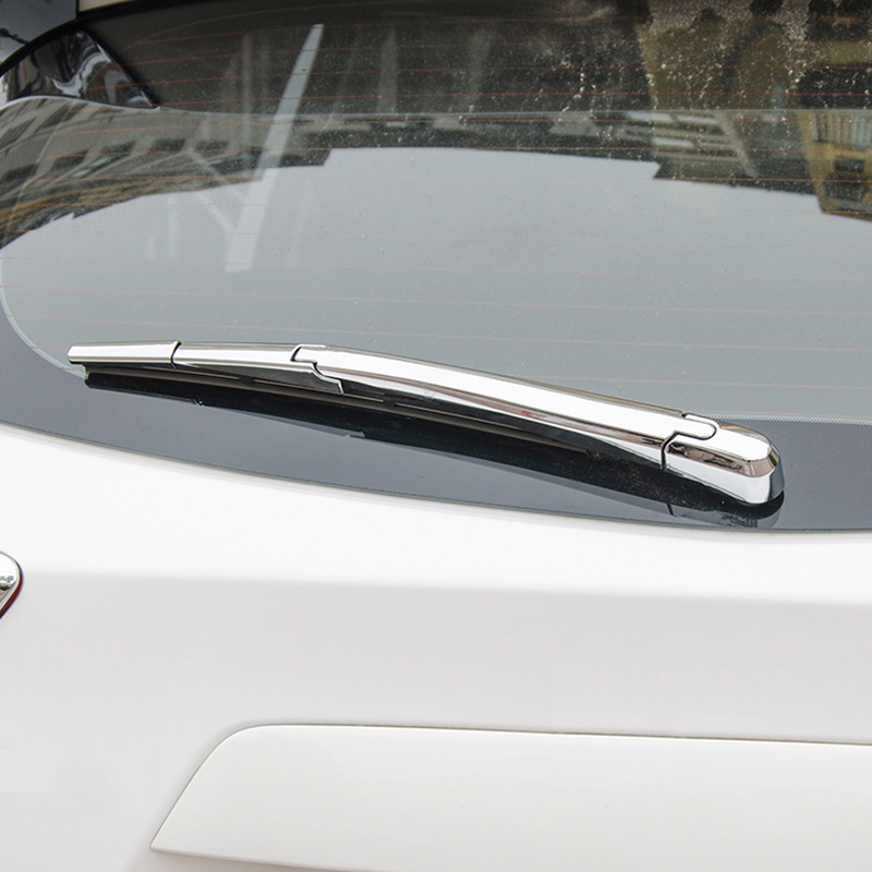 Chrome Rear rain Wiper blade cover Frame trim For Mazda CX5 2013 2014 2015