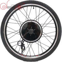 Ebike 36V/48V 1500W 20inch 700c Rear Wheel Free 7 Speed Gear Brushless Gearless Hub Motorized Wheel For Electric Bicycle 145mm