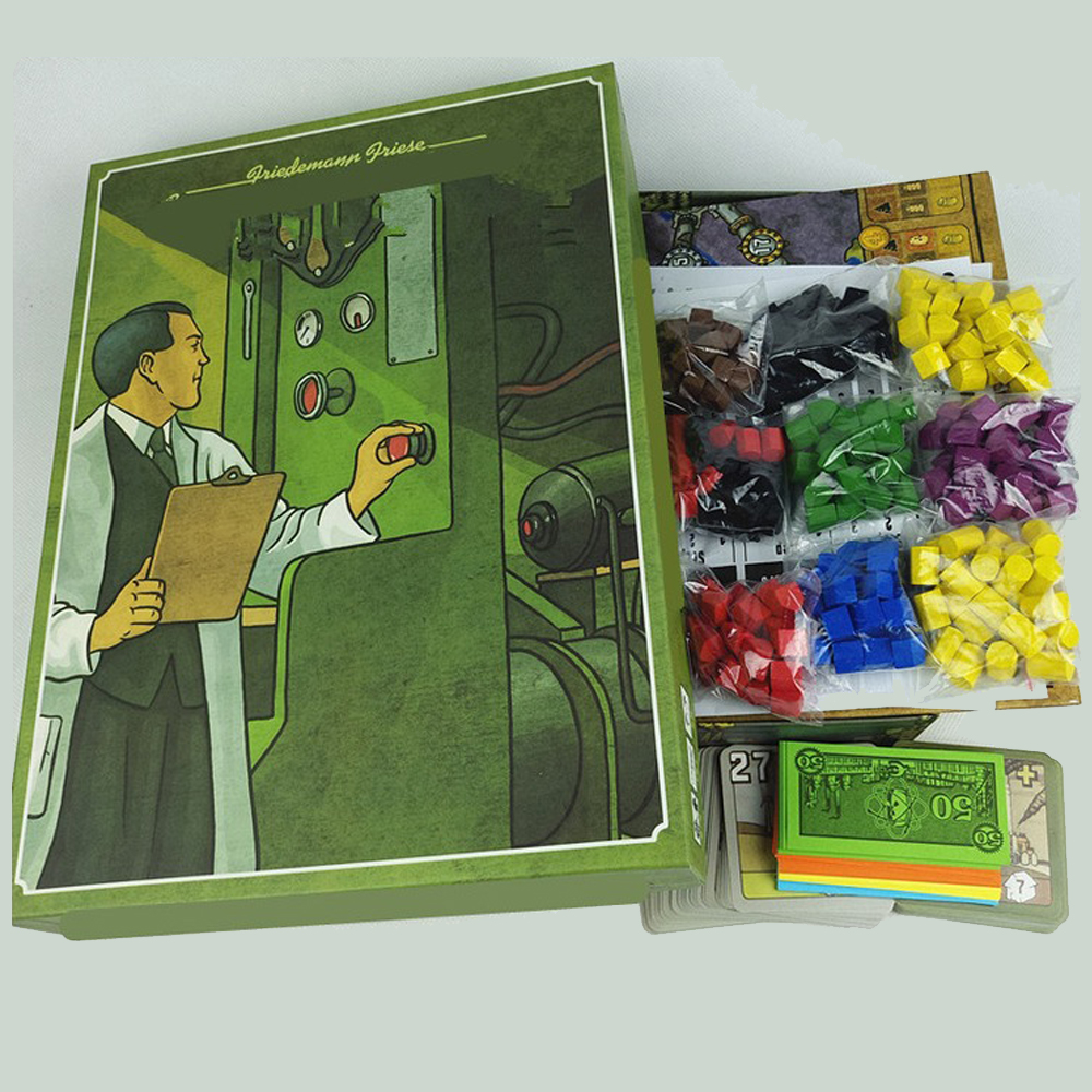 New Power Grid Board Game English Version ,Basis+Expand Cards Game ...