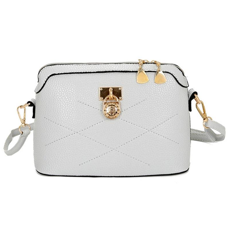 НОВО бренда женска торба мекана кожа Мессенгер ручне торбе Цросс боди Ладиес торба за рамена 2017 Популарне женске торбице на велико А7