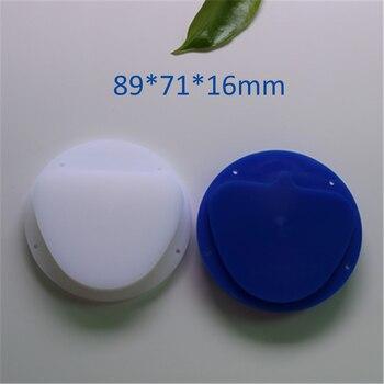 5 Piece 89x71x16mm Dental Carving Wax Blocks Amann Girrbach System Blue,White Color Dental Lab Material Wax Disc