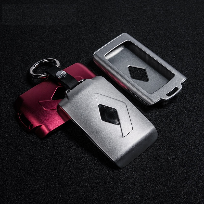 lunasbore aluminum car key cover case protector holder fit. Black Bedroom Furniture Sets. Home Design Ideas