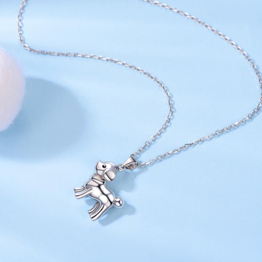 Simple animal dog jewelry necklace