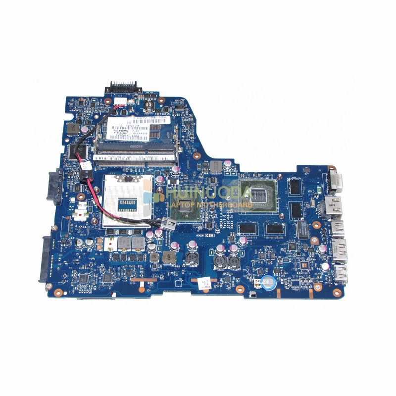 NOKOTION 3D For Toshiba Satellite A660 A665 Intel HM55 S989 Motherboard K000104430 NWQAA LA-6062P works nokotion la 6062p rev 2 0 k000104430 for toshiba satellite a660 a665 laptop motherboard hm55 geforce gt330m