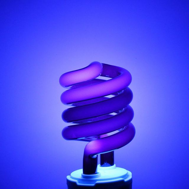 uv lamp bulb e27 15 20 30w spiral enegy saving uv ultraviolet