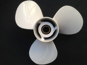 Free shipping 11x15 For yamaha 40HP-55HP propellers OEM part No.663-45943-01-EL aluminium 13 Tooth Spine marine propellers
