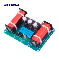 Aiyima 2PC Three Way Audio Speaker Frequency Divider 3 Unit Professional Speaker Crossover Filter 4