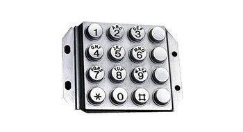 Raised Metal Password Keyboard OEM/ODM available