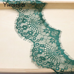 Image 4 - ywzatgits 14 colors  Flower Embroidered Garment lace  Trim Lace  DIY Sewing Dress  3Yards /Lot  YR0503