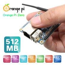 Laranja pi zero 512mb h2 + quad-core open-source única mini placa