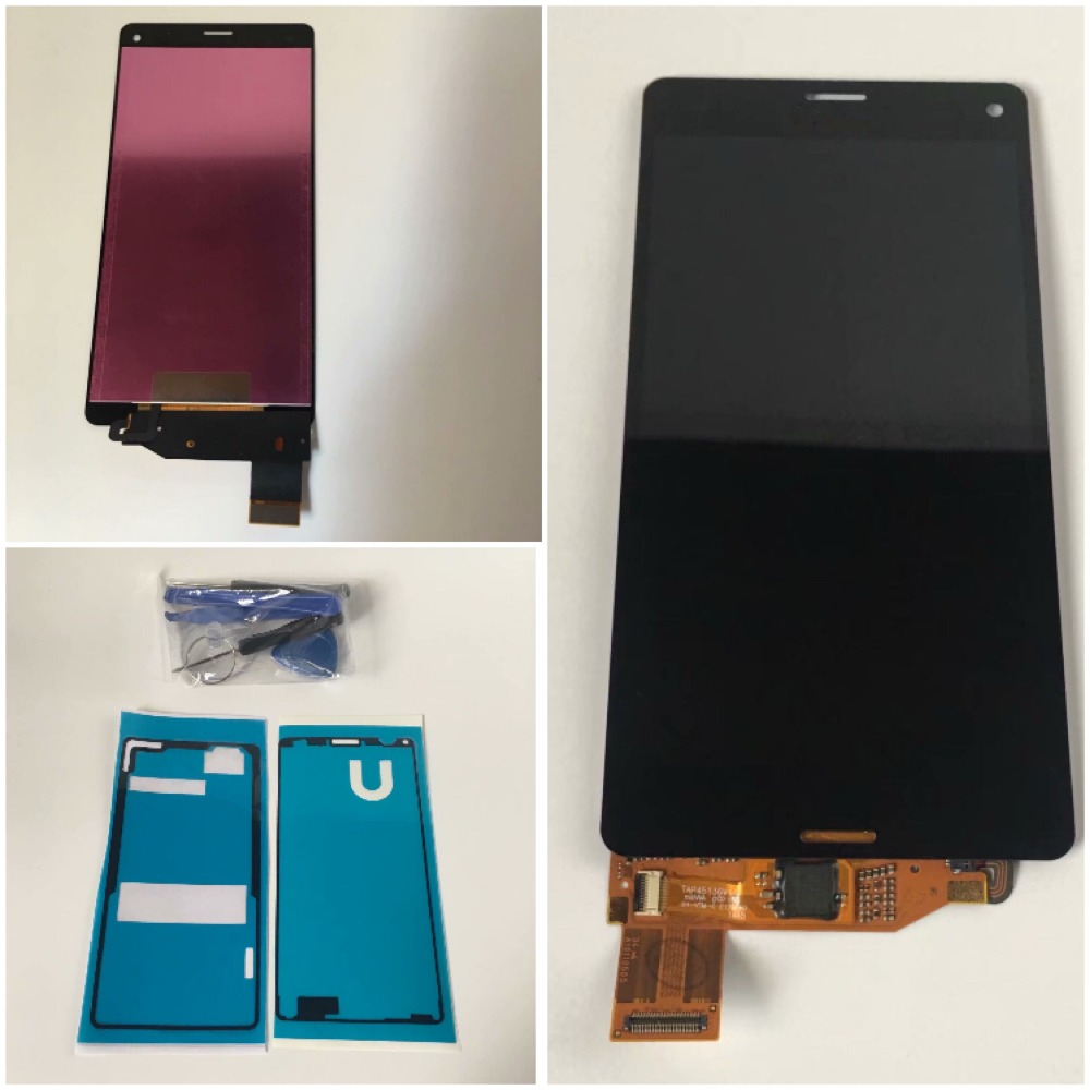 sailaway LCD Display For SONY Xperia Z3 Compact Touch Screen Z3Mini D5803 D5833 Z3C