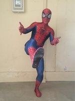 Raimi Spiderman Costume 3D Print Fullbody Halloween Cosplay Suit For Adult Kids Custom Made Include Glasses