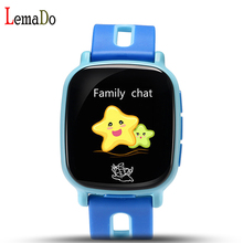 ใหม่เด็กน่ารักsmart watch 1.3นิ้วหน้าจอtftสนับสนุนซิมการ์ดปัญญารักษาความปลอดภัยsmart watchสำหรับเด็ก