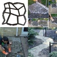 Driveway Paving Mold Patio Concrete Garden Walk Path Stepping Stone Mould