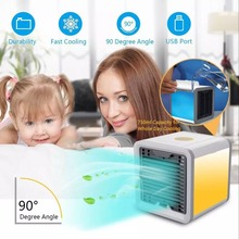 Artic Air Cooler Small Air Conditioning Appliances Mini Arctic Air Cooler Fans Air Cooling Fan Portable Strong Wind stocked