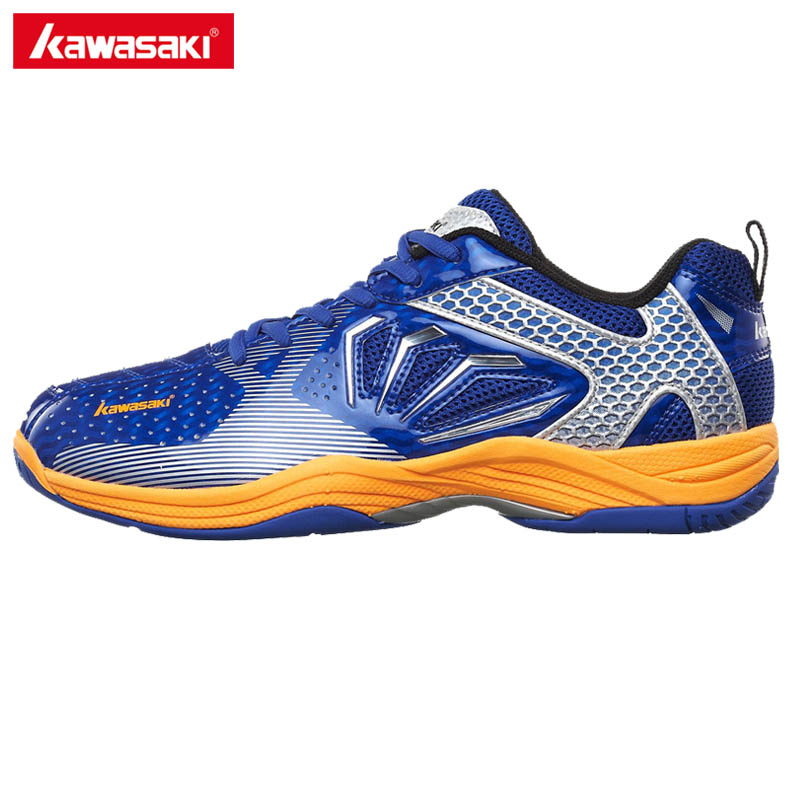 Brand Kawasaki Badminton Shoes 2017 Sport Sneakers for Men Women Anti-Slippery PVC Floor Sports Shoe K-066 professional brand kawasaki badminton shoes 2017 sport sneakers for men women anti slippery pvc floor sports shoe k 065 k 066