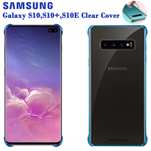 Original Samsung Shockproof Phone Case Soft Shell For Galaxy S10 X S10+ Plus S10e SM-G9730 Stealth TPU Mobile Cover