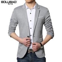 BOLINAO, новинка, модные мужские блейзеры, для мужчин, британский стиль, высокое качество, приталенный пиджак, для мужчин, с длинным рукавом, деловые блейзеры