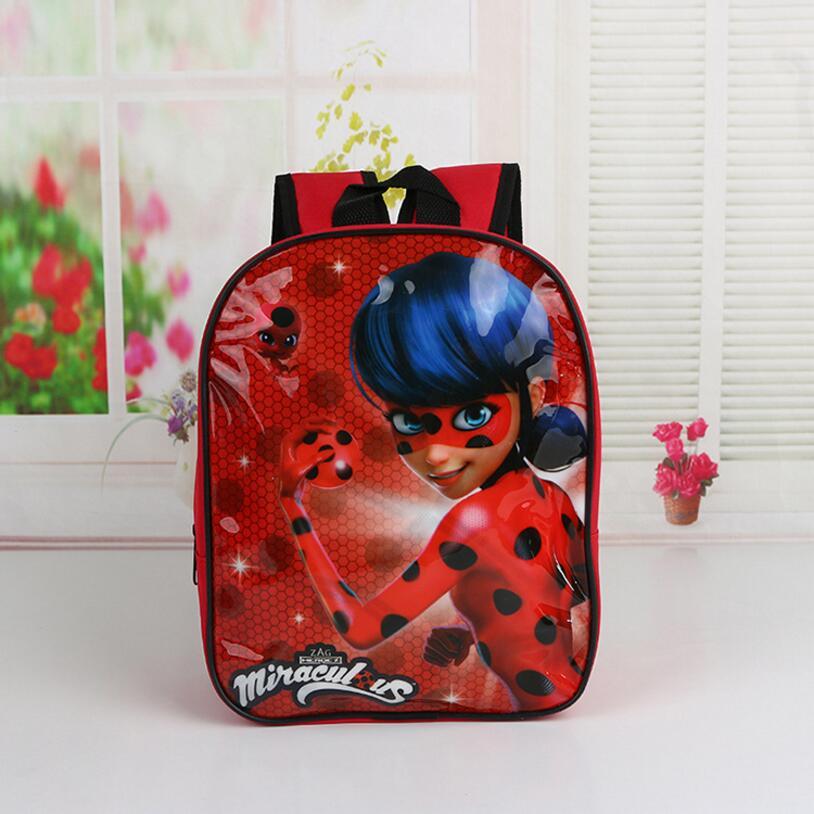 Новый мультфильм дети принцесса Эльза школьный милые девушки Прекрасный Белоснежка школьная сумка Чудесное Божья коровка Детский сад рюкз...