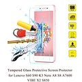 New 0.3mm Premium Tempered Glass for Lenovo S60 S90 K3 Note A8 S8 A7600 VIBE X2 S850 Transparent Screen Protector + Clean Tools