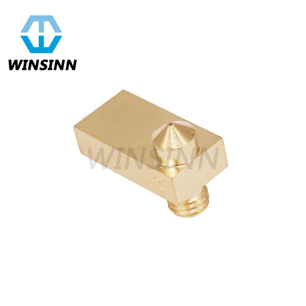Olsson 1.75mm Brass Block for 3D Printer Ultimaker2 UM2 Extended 6mm Heater