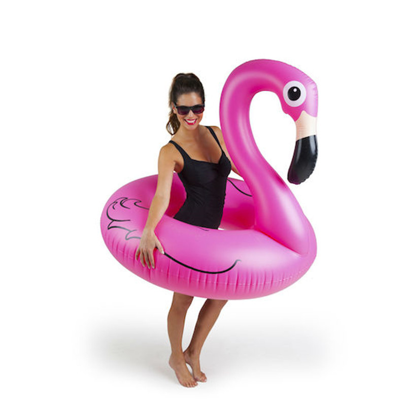 Huge swimming tube pool vison water float inflatable party toys air huge inflatable sea Flamingo (5)