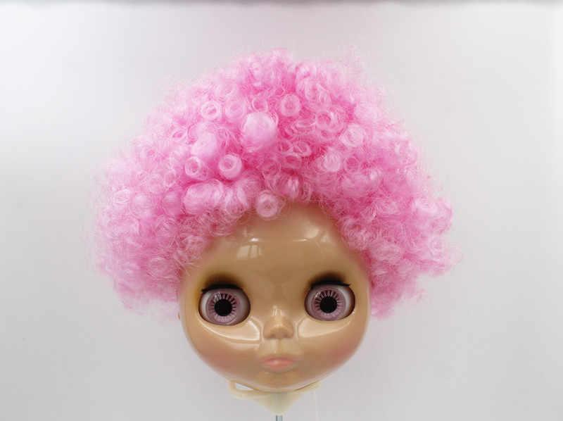 O Envio gratuito de big desconto RBL-627 DIY Nude Blyth 4 cor dos olhos grandes boneca de presente de aniversário da boneca para a menina com a bela cabelo bonito brinquedo