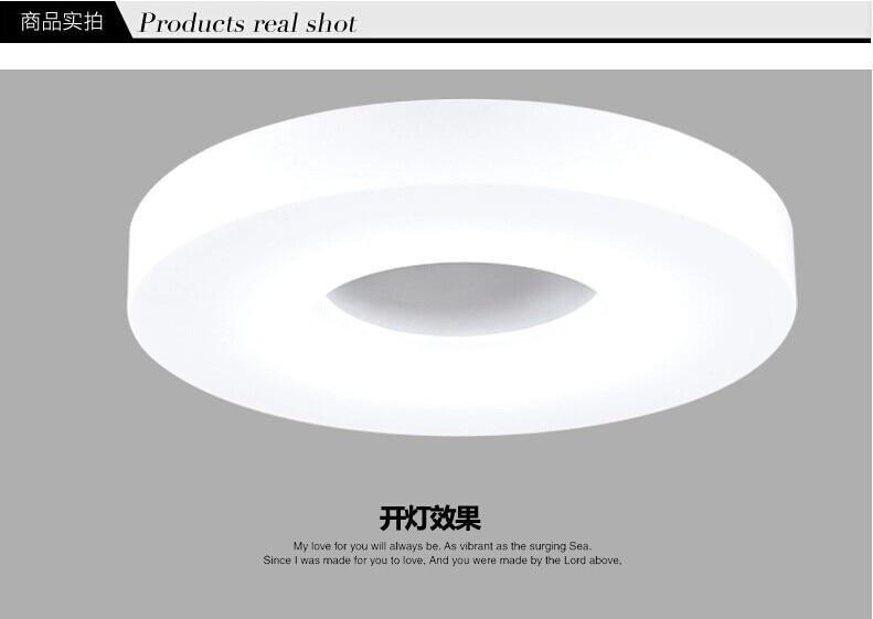 Plafoniere Moderne Led : Led rotonda circolare balcone camera da letto lampade a soffitto