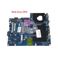 NOKOTION MBN5402001 MB.N5402.001 Laptop Motherboard For Acer Emachines E525 5732z KAWF0 LA 4851P GL40 DDR2 Free CPU