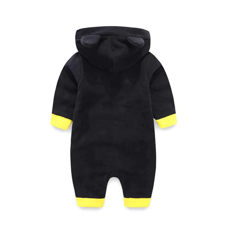 Одежда для новорожденных; теплые детские комбинезоны с длинными рукавами; одежда для маленьких мальчиков; осенне-зимний комбинезон для мальчика; roupas bebes; костюм для младенцев